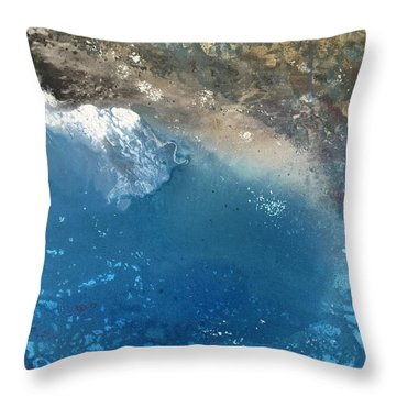Bajamar Throw Pillow