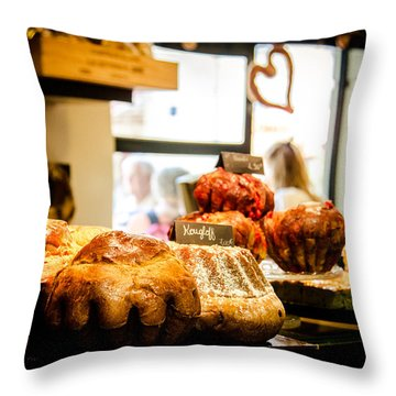 Throw Pillow featuring the photograph Baker by Jason Smith