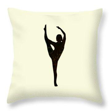 Balance Throw Pillow by Anastasiya Malakhova