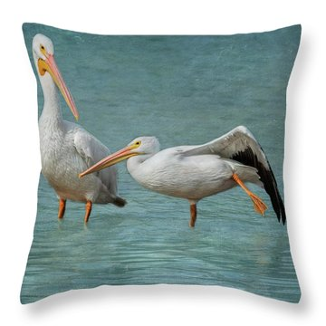 Throw Pillow featuring the photograph Balance by Kim Hojnacki