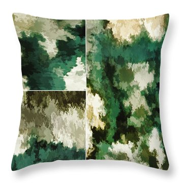 Balance...five Throw Pillow by Tom Druin