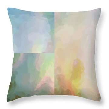Balance...four Throw Pillow by Tom Druin