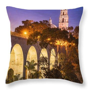 Balboa Bridge Throw Pillow