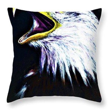 Bald Eagle - Francis -audubon Throw Pillow