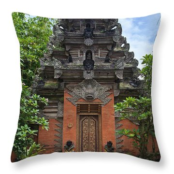 Bali_d3 Throw Pillow