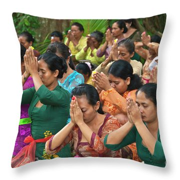 Bali_d323 Throw Pillow