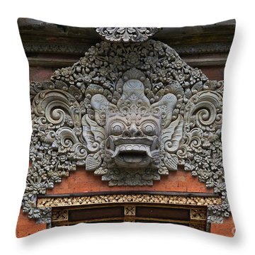 Bali_d5 Throw Pillow