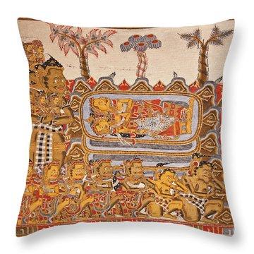 Bali_d530 Throw Pillow by Craig Lovell