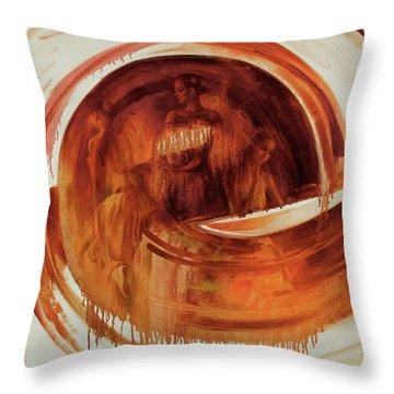 Ball-e-t Throw Pillow