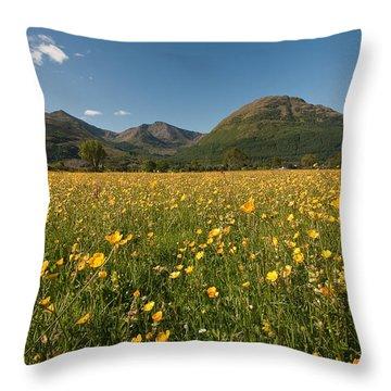 Ballachulish Throw Pillow