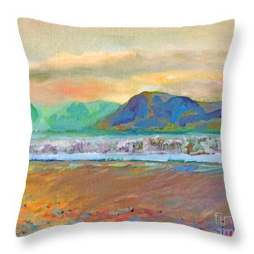 Ballenskelligs Bay Throw Pillow