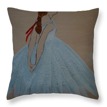 Ballerina Throw Pillow