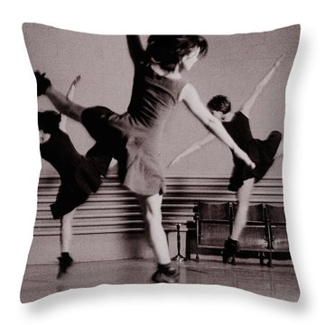 Ballet #10 Throw Pillow