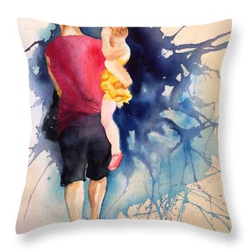 Ballet Mum - Original Sold Throw Pillow