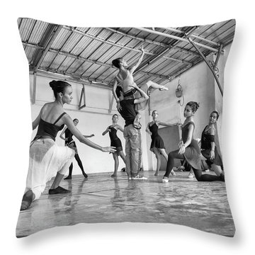 Ballet Practice - Havana Throw Pillow
