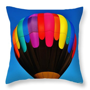 Balloon Colors Throw Pillow