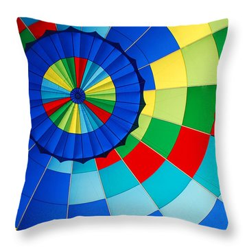 Balloon Fantasy 8 Throw Pillow
