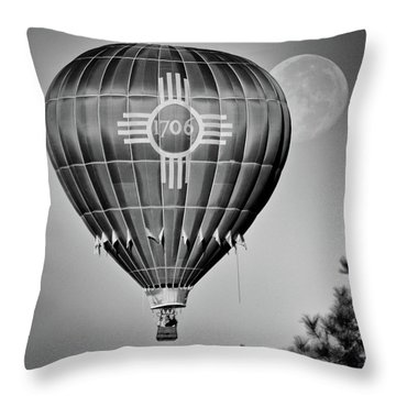 Ballunar Eclipse Throw Pillow