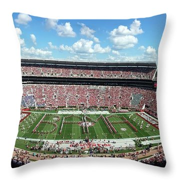 Bama Spell-out Panorama Throw Pillow