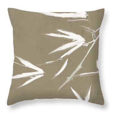 Bambo02 Throw Pillow