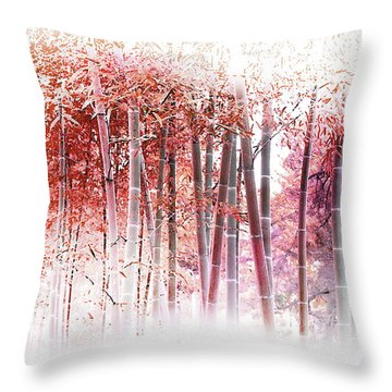 Bamboo Throw Pillow