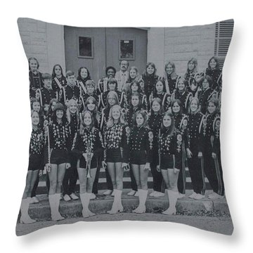 Band After Fire 76 Throw Pillow