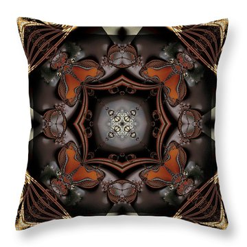 Banded Together Throw Pillow