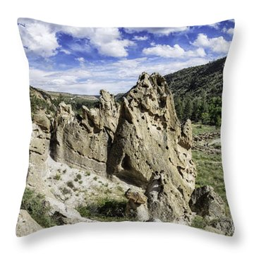 Bandelier National Monument  Throw Pillow