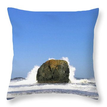 Bandon 14 Throw Pillow by Will Borden