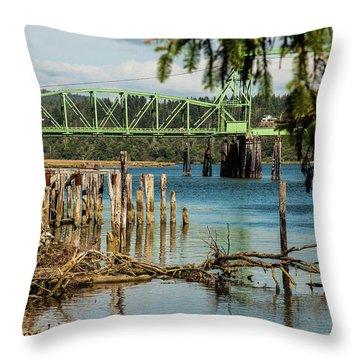 Bandon Drawbridge Throw Pillow