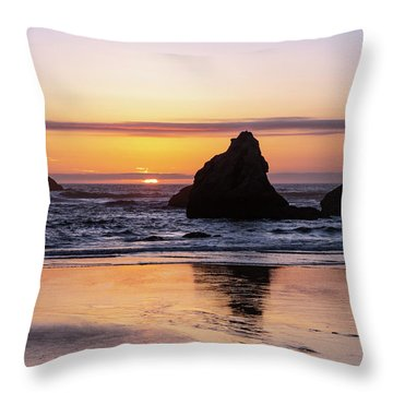 Bandon Glows Throw Pillow
