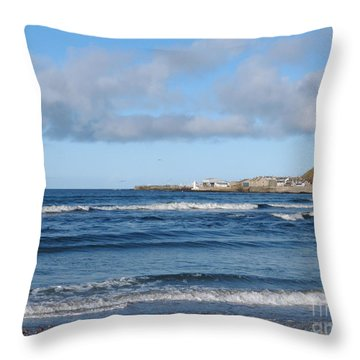 Banff Bay  Throw Pillow