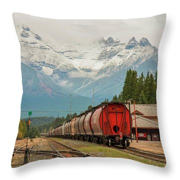 Banff Depot 2009 02 Throw Pillow