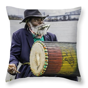 Bang That Drum Throw Pillow