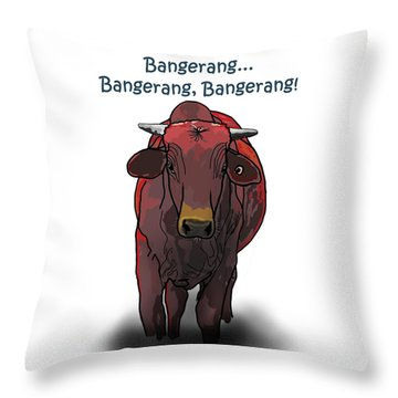 Bangerang Throw Pillow