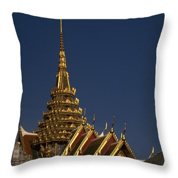 Bangkok Grand Palace Throw Pillow