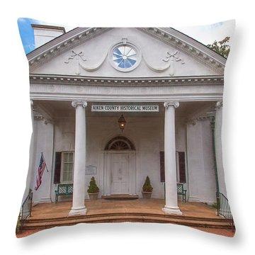 Banksia Mansion - Aiken, Sc Throw Pillow