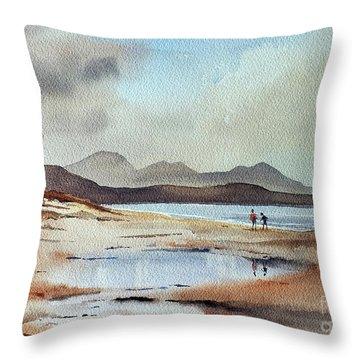 Banna Strand, Kerry...dscfo510 Throw Pillow