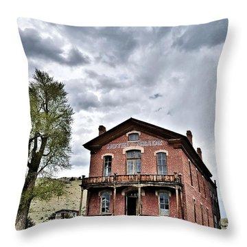 Bannack Mt. 7 Throw Pillow