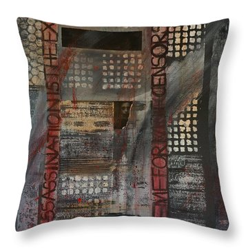 Banned Throw Pillow