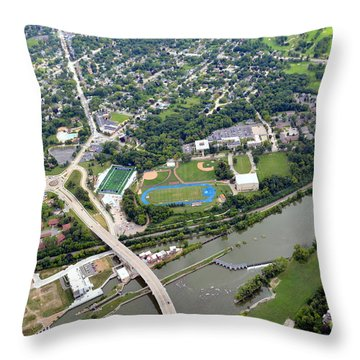 Banta Bowl Throw Pillow by Bill Lang