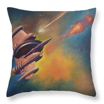 Bantam Cruiser Throw Pillow