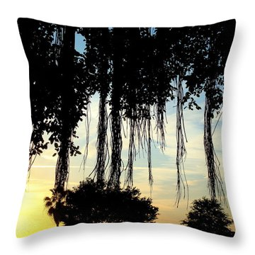 Banyan Tree Throw Pillow