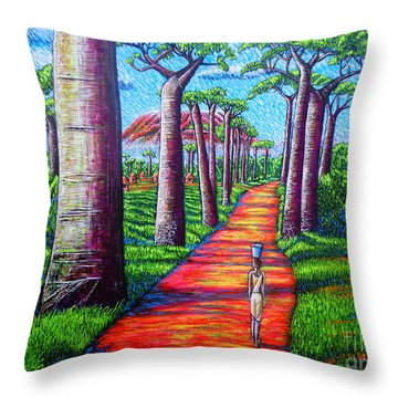 Baobab Throw Pillow