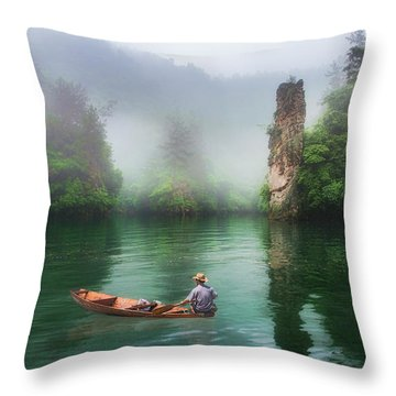 Baofeng Throw Pillow by Wade Aiken