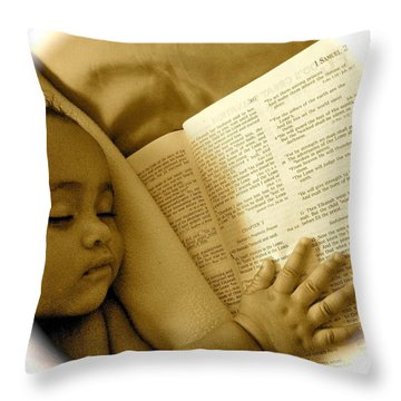 Baptism Throw Pillow