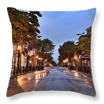 Bar Harbor - Maine Throw Pillow