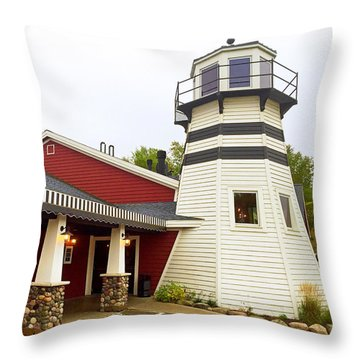 Bar Harbor Study 3 Throw Pillow