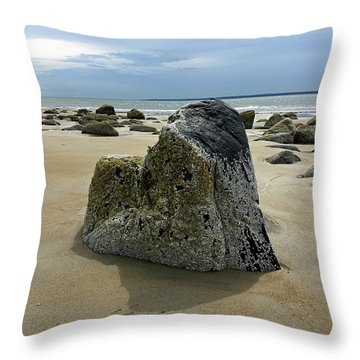 Bar Head Rocks Throw Pillow