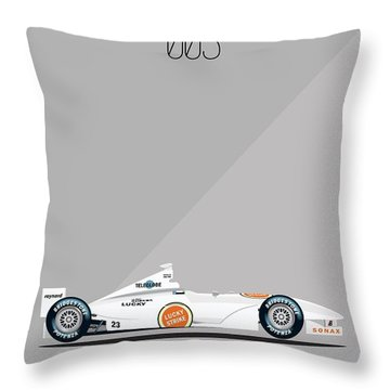 Bar Honda 003 F1 Poster Throw Pillow